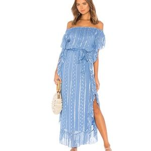 SAYLOR AVRIL DRESS  OFF SHOULDER XS NWT